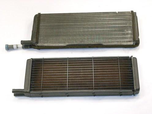 Ook de kachelradiator dient soms te worden vernieuwd.