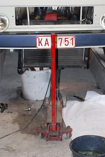 Het verwijderen van een gebruikte radiator,na 100 000km