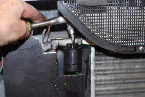 De nieuwe Nissens radiatoren hebben een plastieken ontluchtingsnippel...