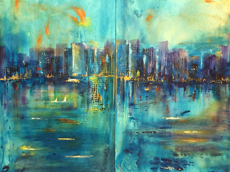 Abstrakt Kunst Bea Paintings