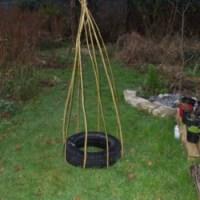 How To Make A Willow Wigwam Plant Support...for Free!