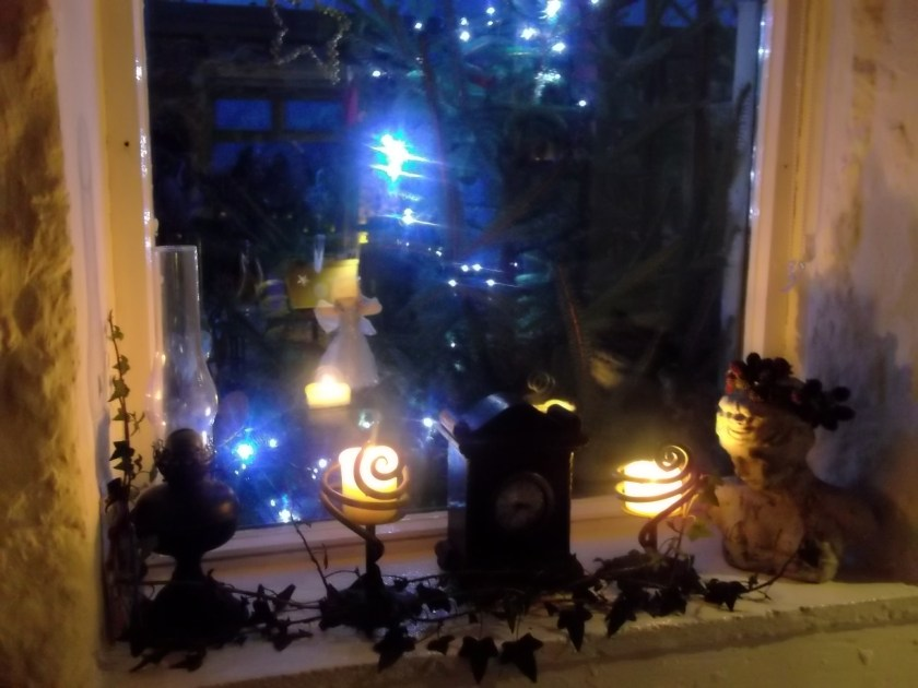 winter solstice 2012 at Bealtaine Cottage