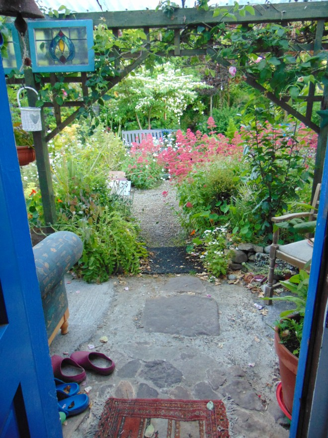 Garden permaculture at bealtainecottage.com 082