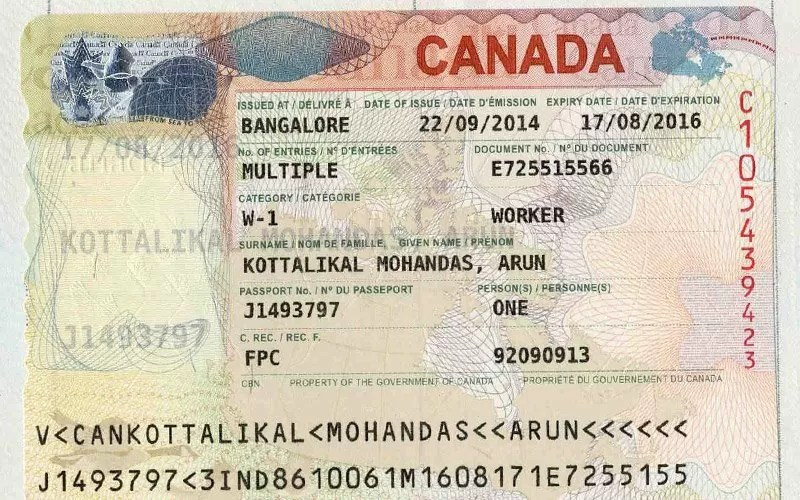 canada-visa Online Application Form For Canada Work Visa on