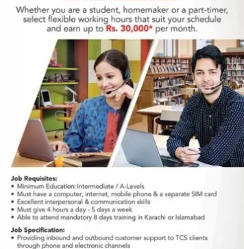 TCS Home Based Jobs