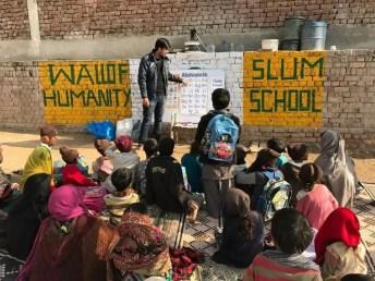Rohayl's Wall of Humanity and Slum School