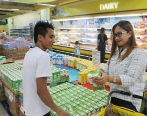 BeamAndGo_Gaisano Grand Malls with staff