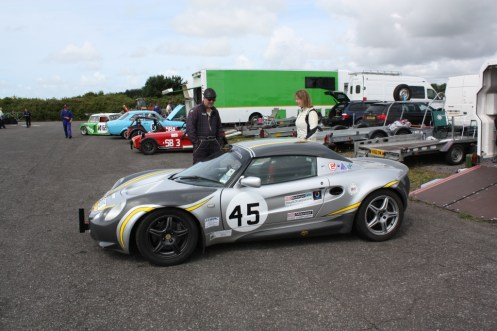 Elen with her very well presented and fast Elise S1.