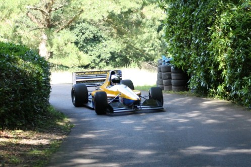 A racing car at The Gate.