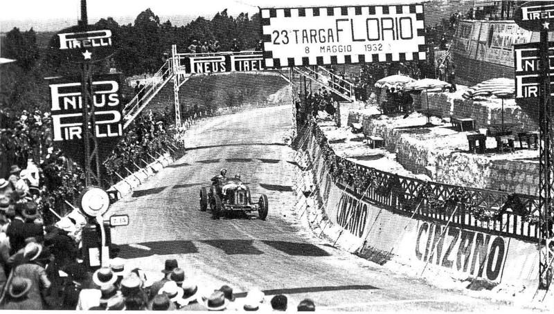 1932 - Nuvolari - footbridge