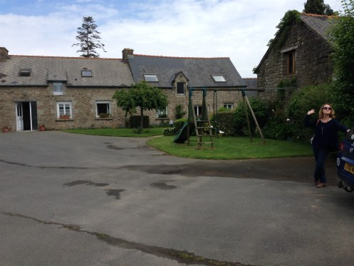 The gite where we stayed.