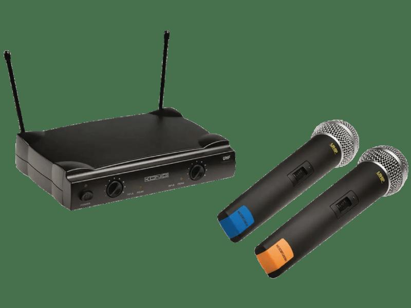 Funkmikrofon-System 2-Kanal