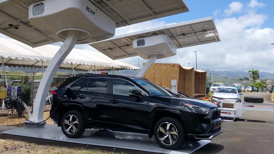 Hawaiian Utility Deploys EV ARC™ Solar-Powered EV Charging Systems and ARC Mobility™ Trailer