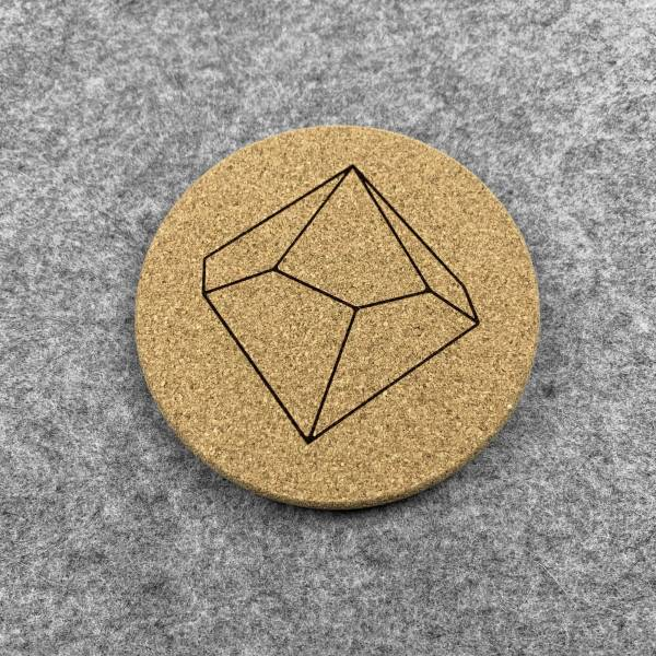 D10 - 10 Sided Dice Coaster