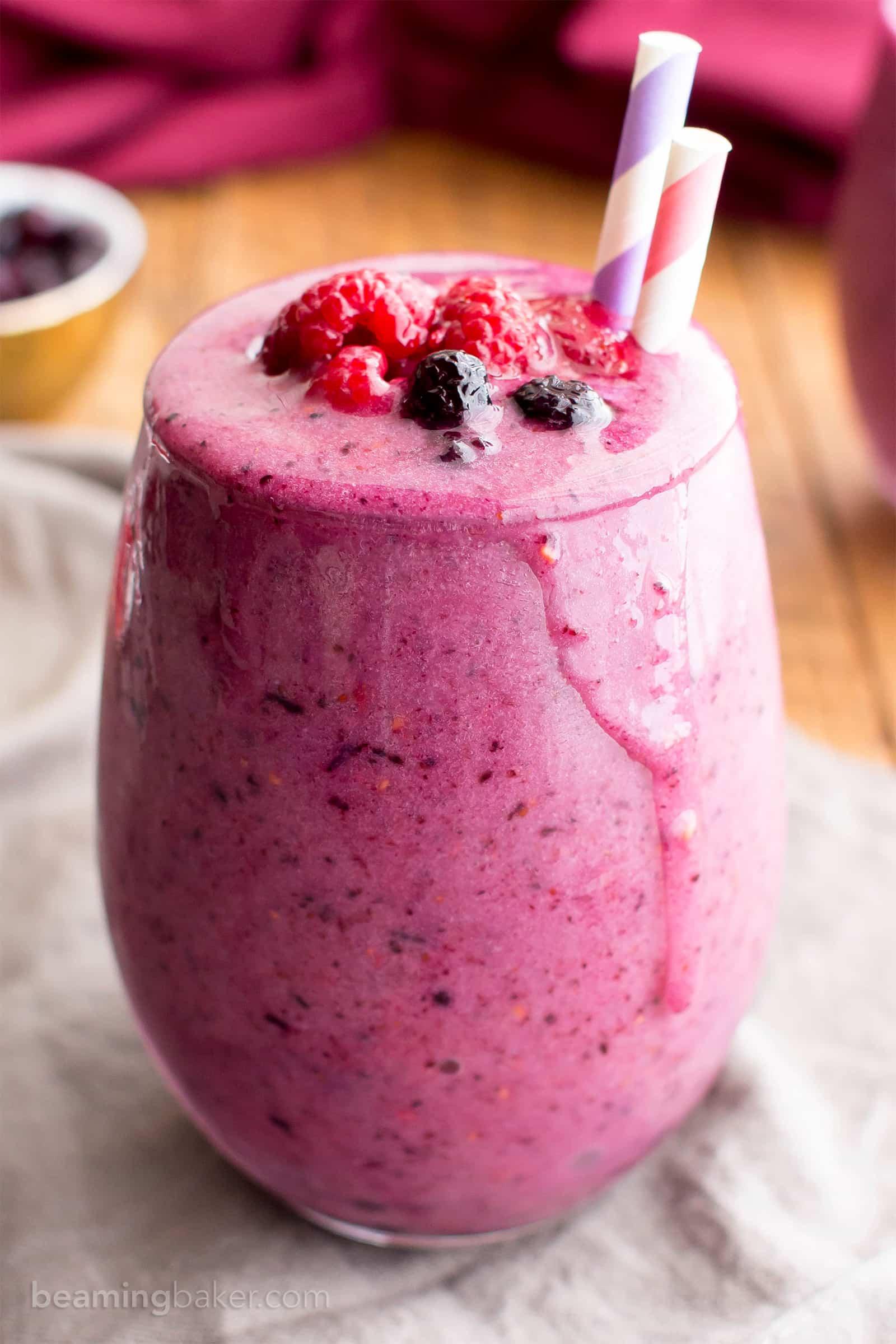 triple berry smoothie 5
