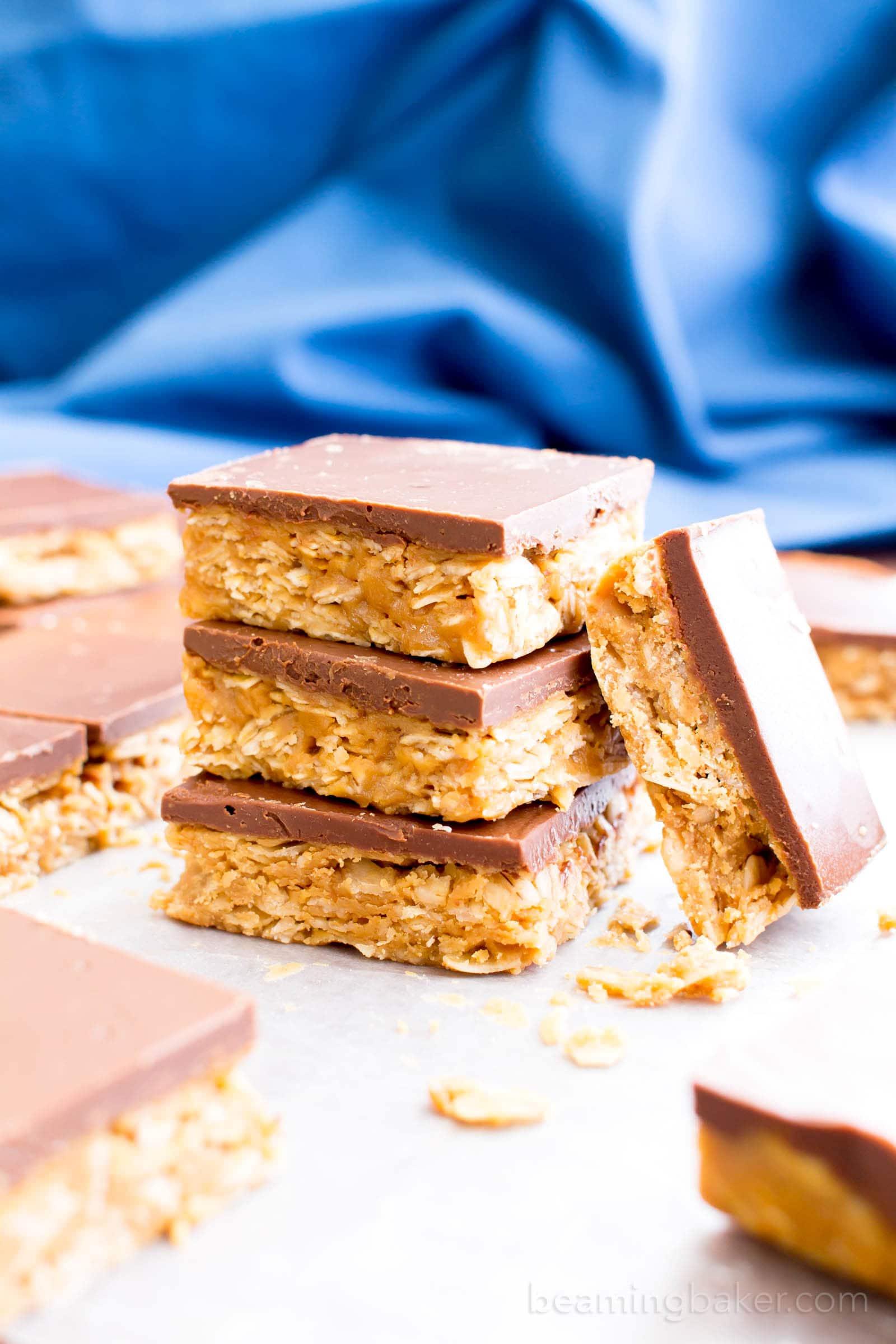 Vegan Peanut Butter Granola Bar Recipe