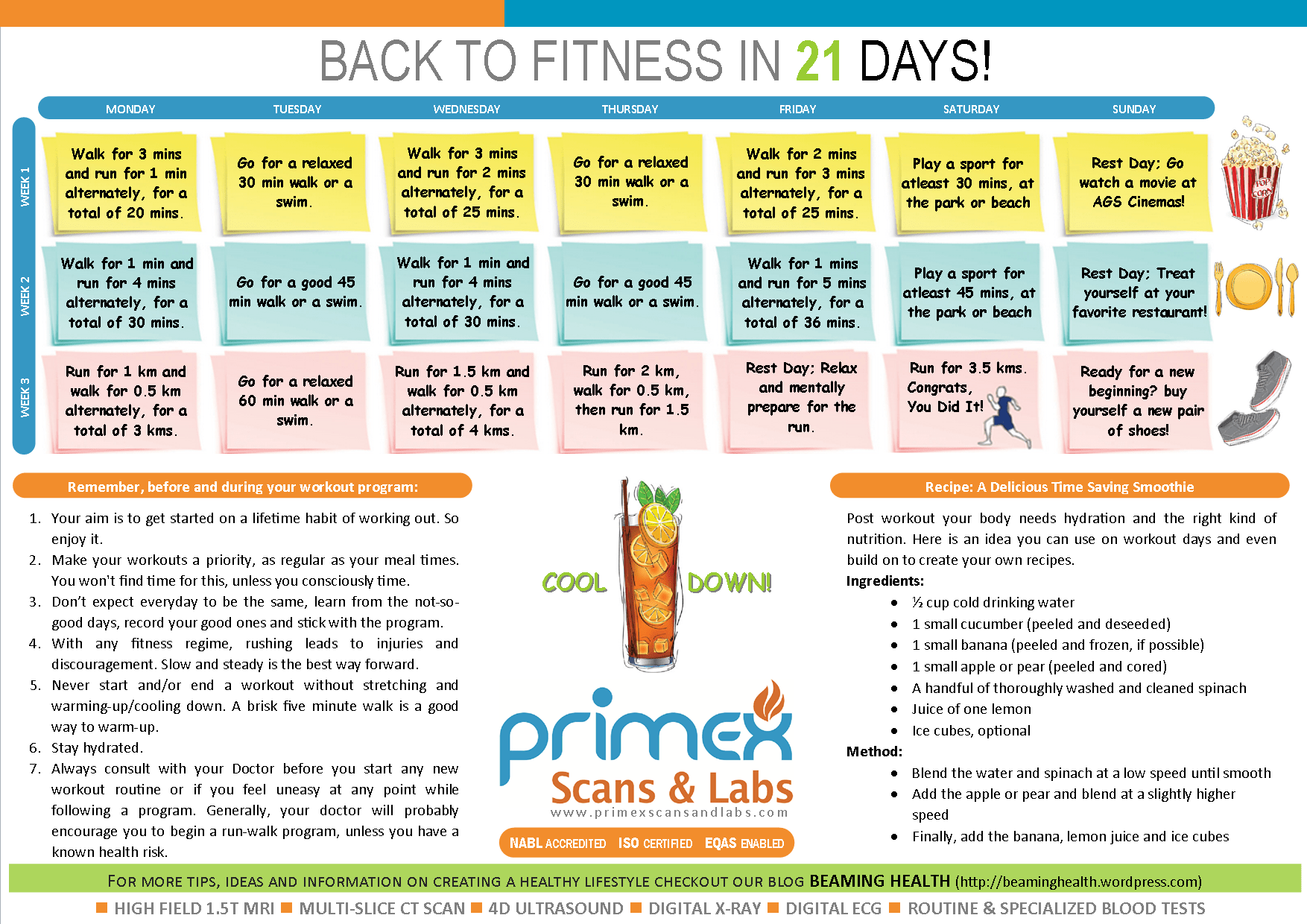 Back To Fitness Week 2 Round Up