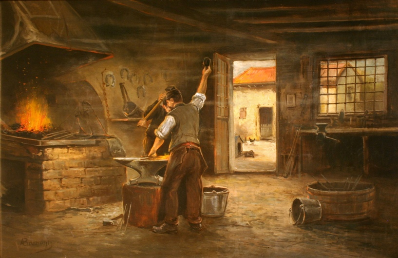 The Village Blacksmith Summary by Henry Longfellow