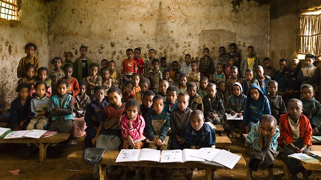 An Elementary School Classroom in a Slum Summary and Analysis