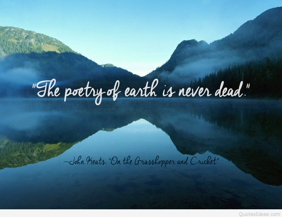 Solved Short Questions of The Poetry of Earth by John Keats