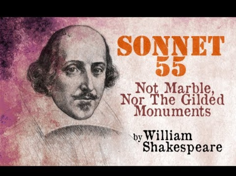 Not Marble Nor the Gilded Monuments Summary in Hindi by William Shakespeare
