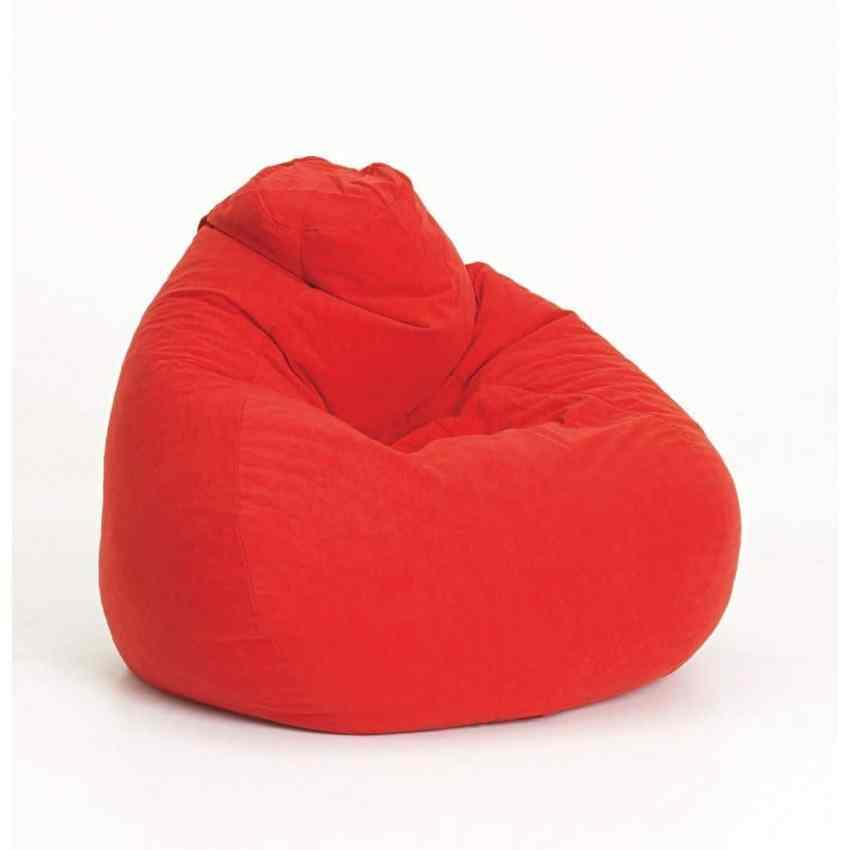 Ghế lười quả lê màu đỏ