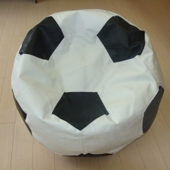 Custom Bean Bag Chairs Canada White Windsor Kitchen Soccer Ball Chair Exclusively From Beanbagz Ca