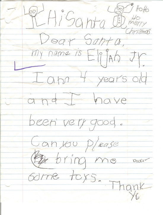 Real Letters To Santa Claus From Kids Images Photos