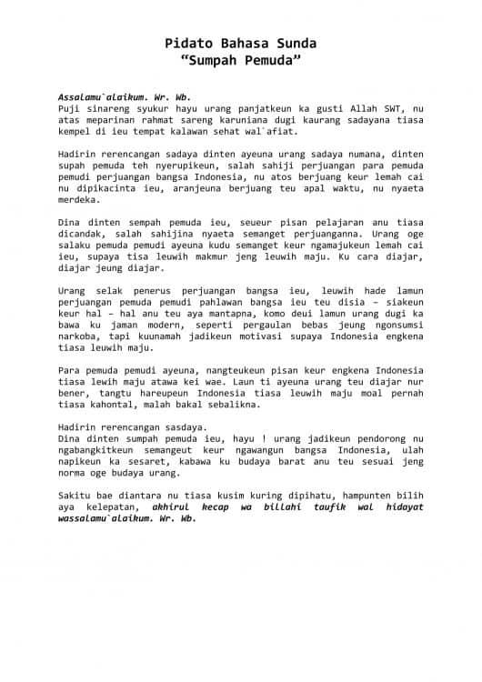 Naskah Pidato Bahasa Sunda : naskah, pidato, bahasa, sunda, Pidato, Perpisahan, Bahasa, Sunda, Beanfasr