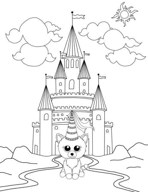 free beanie boo coloring pages download & print cats