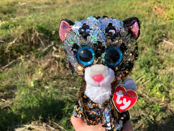 Sterling Ty Flippables Beanie Boo front view
