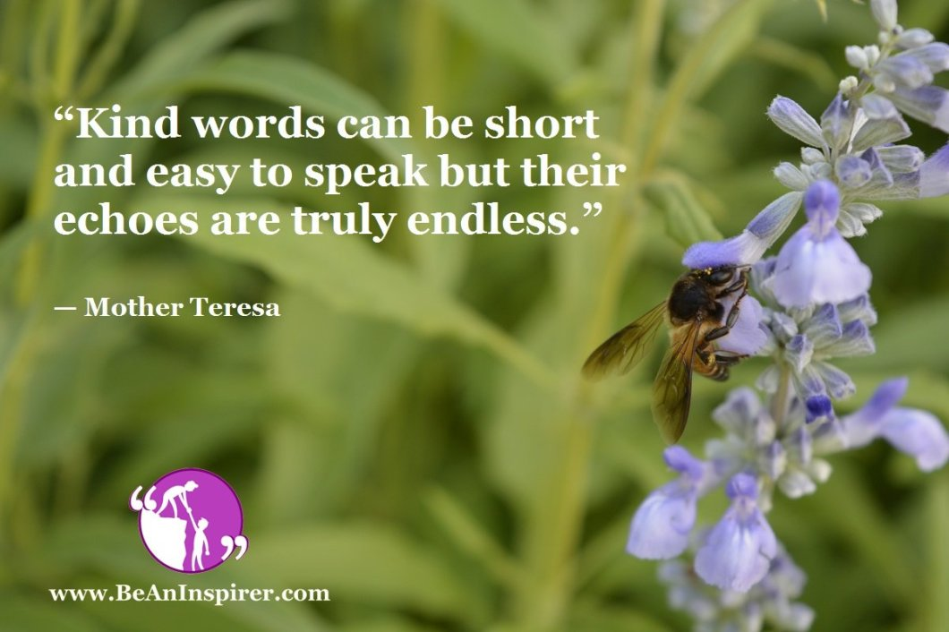 Kind Words – The Best Act To Leave A Powerful Impact