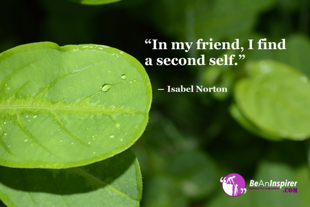 In-my-friend-I-find-a-second-self-Isabel-Norton-Top-100-Friendship-Quotes-Be-An-Inspirer