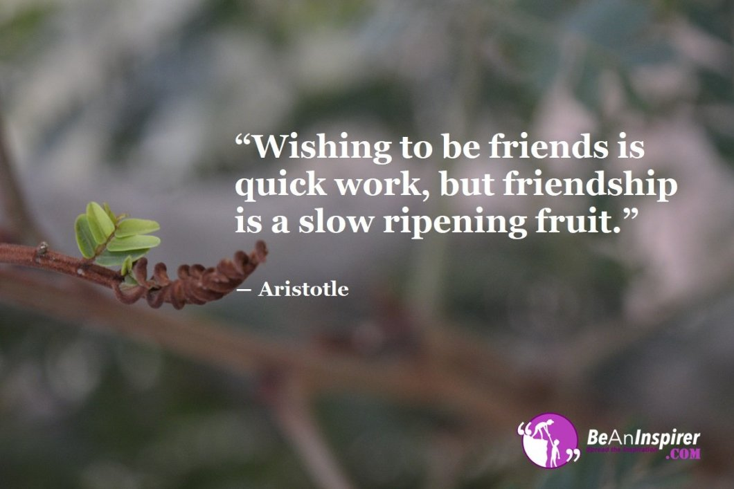 Wishing-to-be-friends-is-quick-work-but-friendship-is-a-slow-ripening-fruit-Aristotle-Top-100-Friendship-Quotes-Be-An-Inspirer