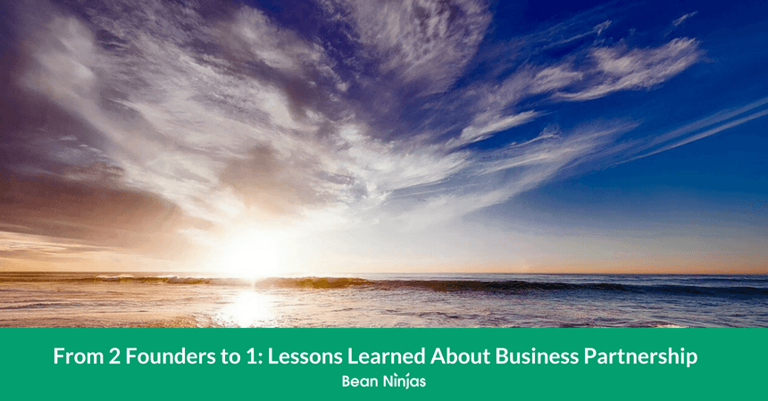 From 2 Founders to 1: Lessons Learned About Business Partnerships
