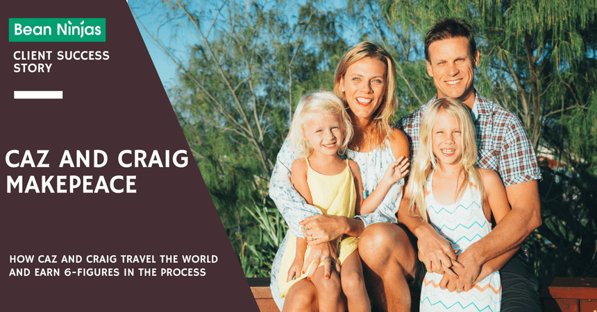 How Caz and Craig Travel the World and Earn 6-Figures in the Process