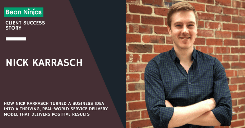 Customer success story: We put Nick Karrasch on trial about the growth of Trialfacts