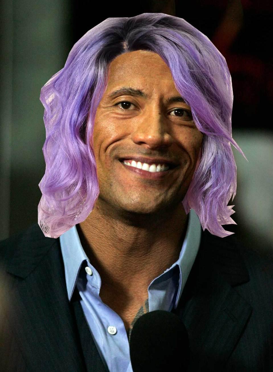 rock with hair - beano