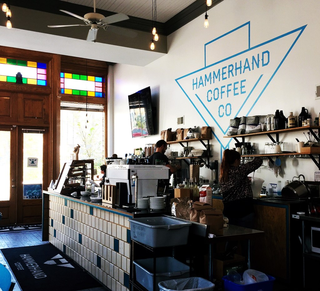 Hammerhand Coffee Kansas City Liberty cafe interior