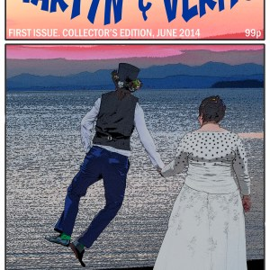 Martyn & Verity - the comic book