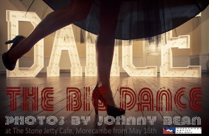 Poster for The Big Dance photo exhibition