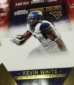 Kevin White Panini Contenders Draft Picks Gold