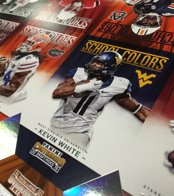 Collecting Kevin White - WR - WVU (or any player in their college uniform)
