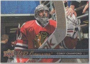2014-15 Upper Deck Canvas #C138 Corey Crawford