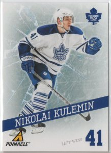 2011-12 Pinnacle Breakthrough #11 Nikolai Kulemin