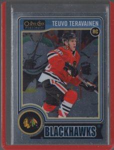 2014-15 O-Pee-Chee Platinum #157 Teuvo Teravainen