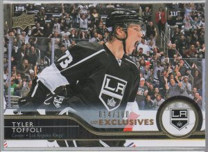2014-15 Upper Deck Exclusives #337 Tyler Toffoli
