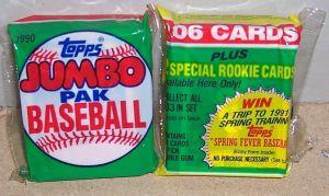 1990 Topps Jumbo Packs