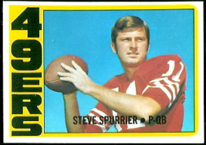 Spurrier 72 Topps (RC)