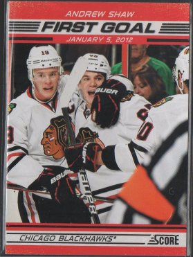 2012-13 Score First Goal #FG3 Andrew Shaw